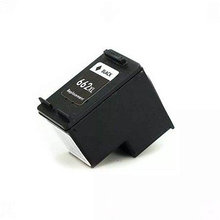 cartucho de tinta hp 662xl black multilaser pp662