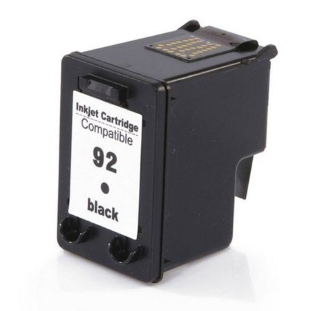 Cartucho Jato De Tinta Hp 92 Black Multilaser Pp092