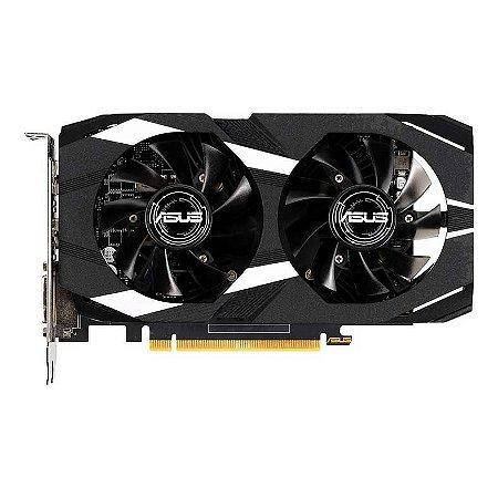 PLACA DE VIDEO ASUS GEFORCE DUAL-GTX1650-O4G, 90YV0CV2-M0NA00 (GPU GTX1650 OC 4GB DDR5)