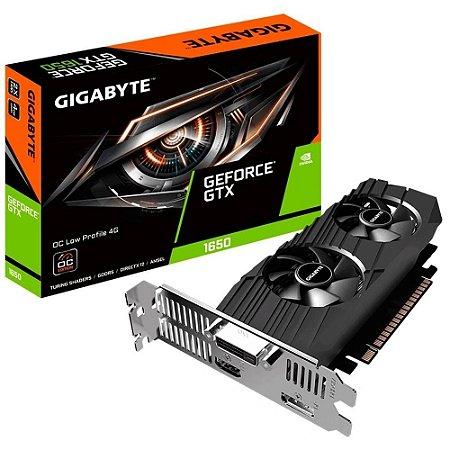 Placa de vídeo gigabyte nvidia geforce gtx 1650 oc 4g gddr6