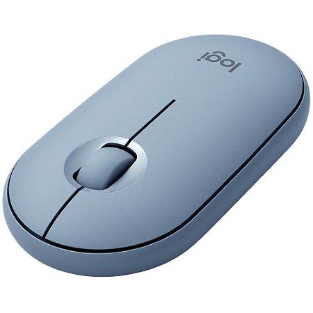 Mouse logitech pebble m350 cinza