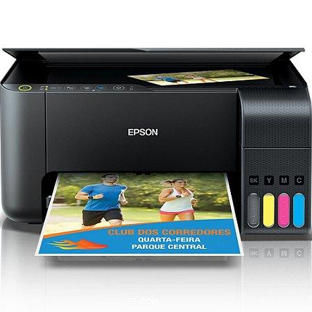 Impressora jato de tinta ecotank epson  l3150 - c11cg86302