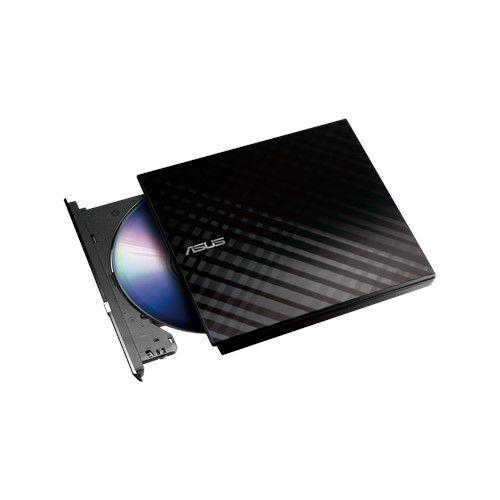 Gravador Dvd Externo Asus Slim Preto /blk/g/as *imp