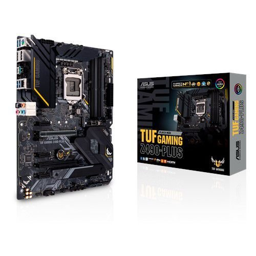 PLACA MAE ASUS TUF GAMING Z490-PLUS LGA1200 DDR4/HDMI/M.2/ATX PN # TUF GAMING Z490-PLU