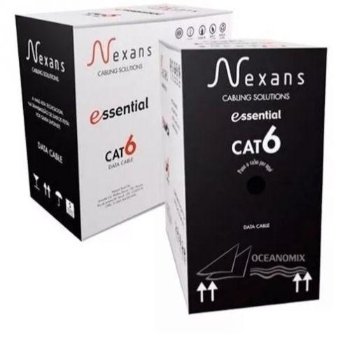 Cabo De Rede Nexans Cat6 U/utp Cm 4p 23awg Azul C 305