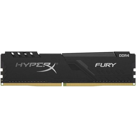 Memória ram desktop hyperx fury ddr4 8gb 2666mhz cl15 dimm