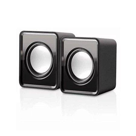 Caixa De Som 2.0 Mini 3w Rms Multilaser Sp151
