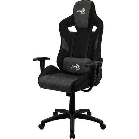 Cadeira Aerocool Count Iron Black Preta