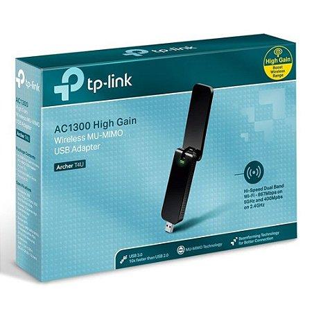 adaptador usb wireless dual band ac1300 archer t4u