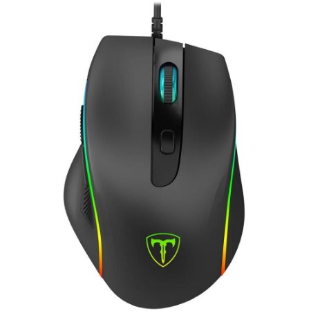 Mouse recruit 2 preto t-dagger rgb t-tgm108