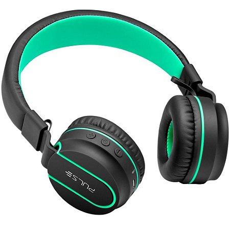 Pulse fone de ouvido fun bluetooth series preto-verde ph215