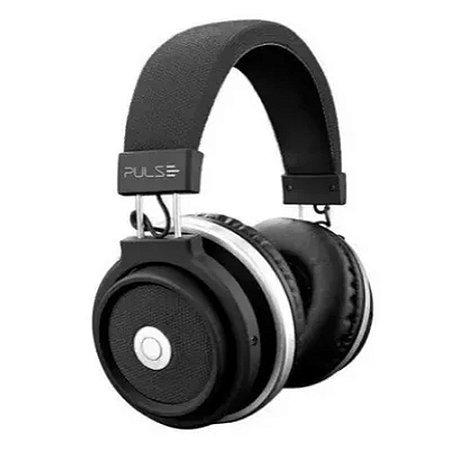 Pulse fone de ouvido bluetooth large preto ph230