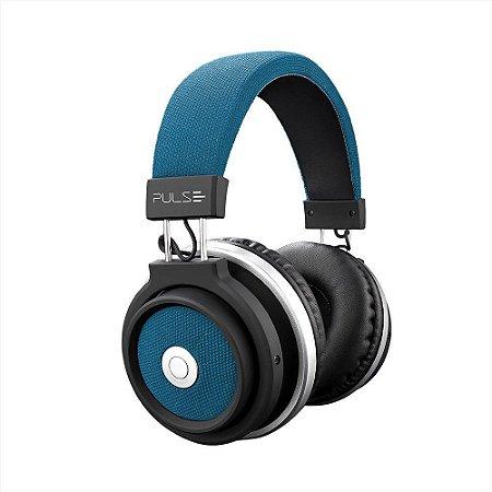 Pulse fone de ouvido bluetooth large azul ph232