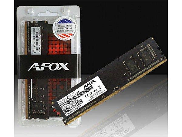 Memoria afox p/ desk 8gb ddr4 2666mhz long-dimm - afld48fh1p