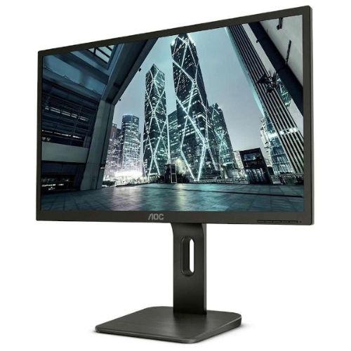 """Monitor 23,8"""" aoc  led 24p1u ajuste de altura e rotação"""