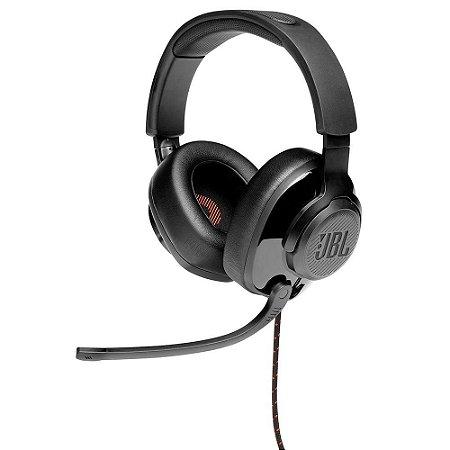 Headset Gamer JBL - Quantum 200  Jblquantum200blk