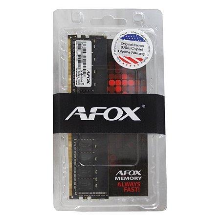 Ram Afox P/ Desk 16gb Ddr4 2400 Mhz Long-dimm - Afld416es1p