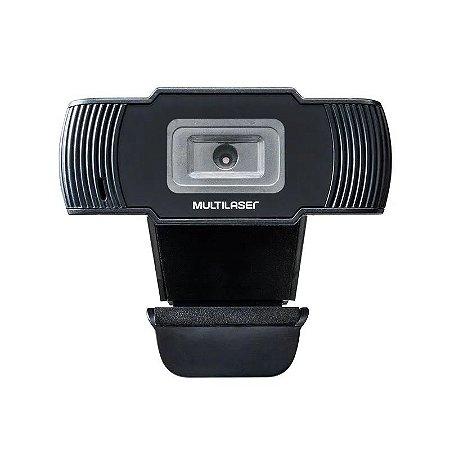 Webcam Office Hd 720P Usb Preta Multilaser - AC339