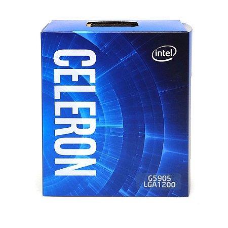 Processador Intel Celeron G5905 3.5 GHz Cache 4MB