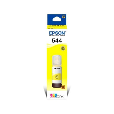 Refil De Tinta Epson T544420 Amarelo P/l3110/l3150