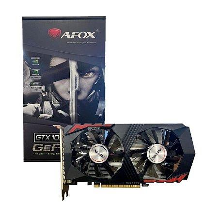 PLACA DE VIDEO  AFOX GTX1050TI 4GB DDR5 AF1050TI4096D5H5 007491