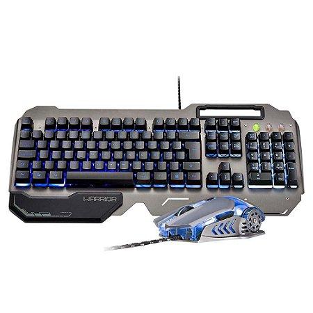 Warrior Ragnar Keon Combo Teclado E Mouse Gamer Tc223