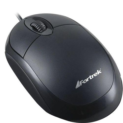 Mouse Opt 1000dpi Usb Fortrek Om101pb Pt
