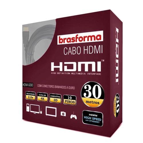 Cabo Hdmi 2.0 4k 3d 19+1 Pinos - Hdmi-5030 30 Metros