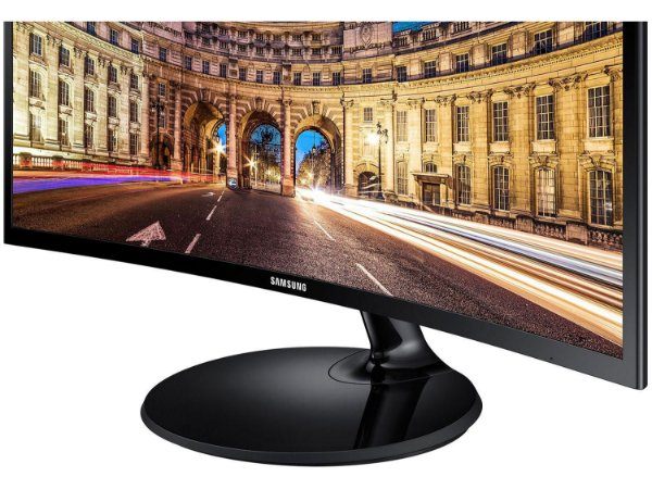 """Monitor para PC Full HD Samsung LED Curvo 27"""" - C27F390FHLMZD"""