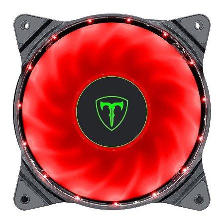 Fan T-Danger 120mm Led Vermelho - T-TGF300-R