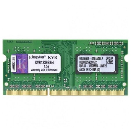 Memória Notebook Kingston 4GB DDDR3 KVR13S9S8/4