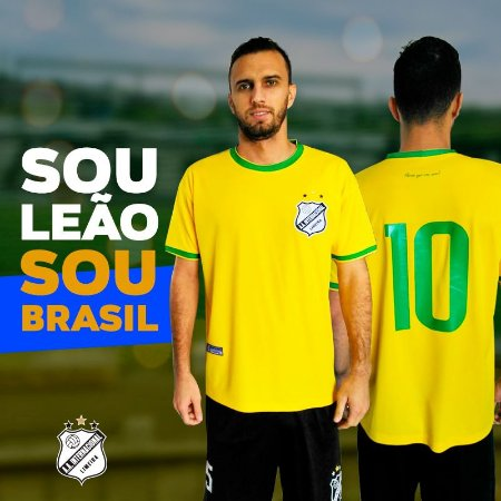 Camisa Leão Brasil.