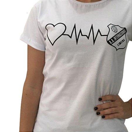 Camisa Feminina - Bate Coração