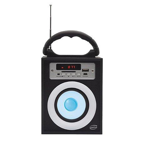 Caixa De Som Mini Torre Bluetooth - Newlink SP108
