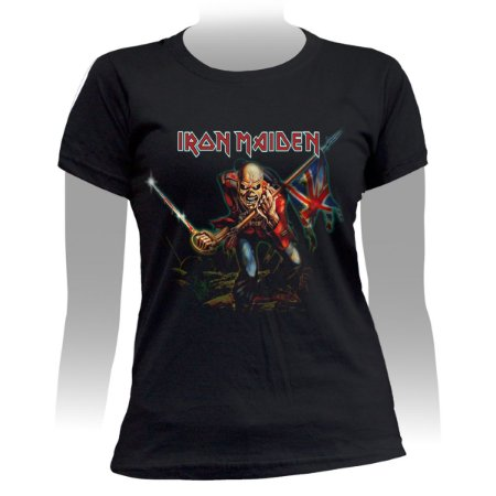 Camiseta Baby Look Iron Maiden The Trooper - Stamp BB-326