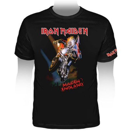 Camiseta Iron Maiden Maiden England 88 - Stamp TS-1162