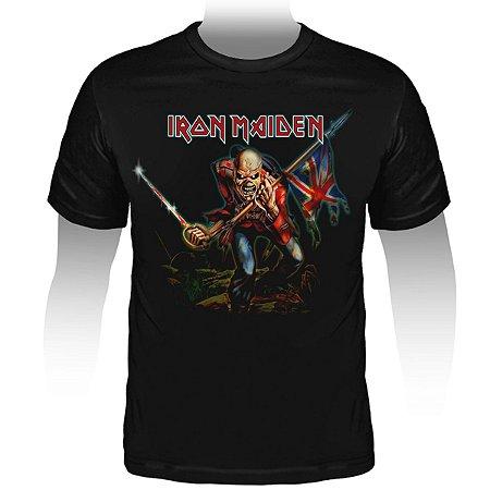 Camiseta Iron Maiden The Trooper - Stamp TS-862