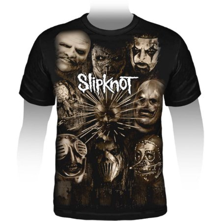 Camiseta Premium Slipknot Halloween - Stamp PRE-092