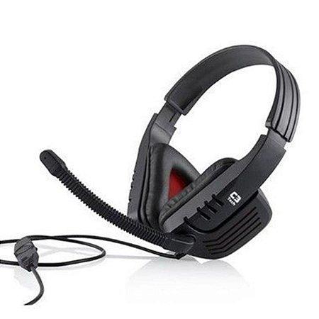 Fone De Ouvido Gamer Headset Predator - C3 Tech MI-2558RB