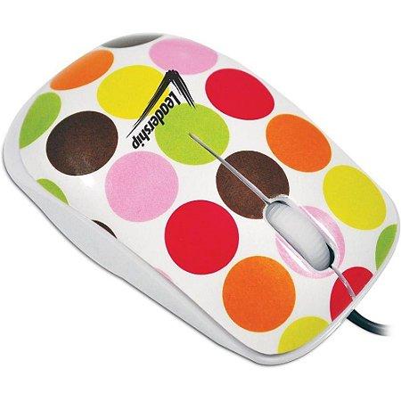 Mouse Óptico Ball Retro - Leadership 3413