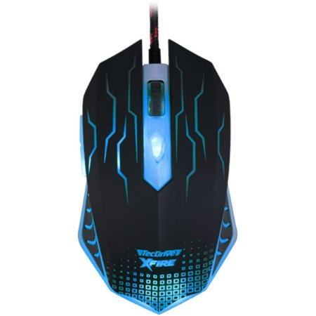 Mouse Gamer 3200 DPI 7 Botoes Xfire Led Azul - TecDrive WuXi