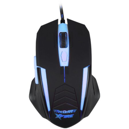 Mouse Gamer 3200 DPI Xfire Led Azul - TecDrive Shinigami