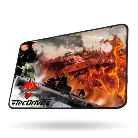 Mouse Pad Gamer Speed Xfire - TecDrive Battle Strike