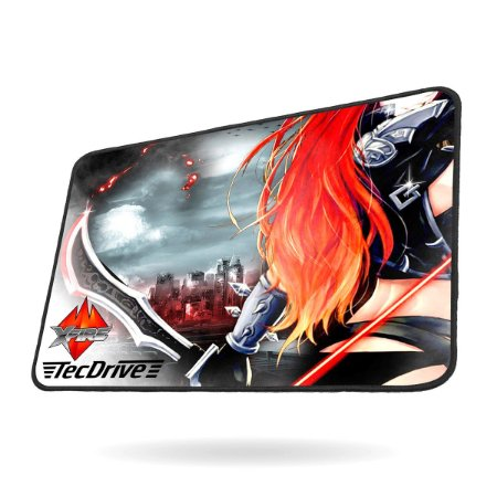Mouse Pad Gamer Speed Xfire - TecDrive Legend Of War