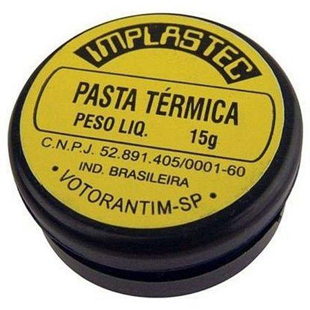 Pasta Térmica 15g - Implastec 2484
