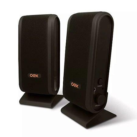 Caixa de som Speaker Slim OEX SK-101