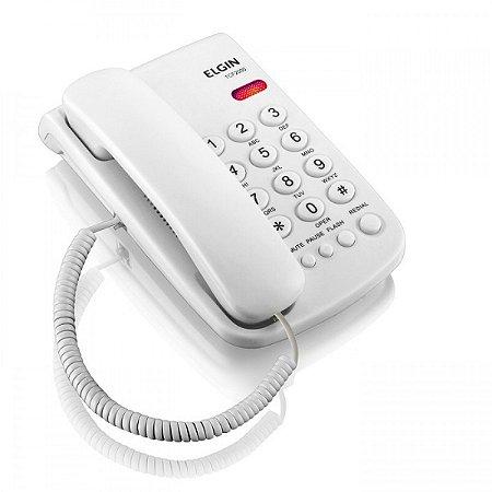 Telefone com Fio Branco - Elgin TCF 2000b