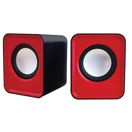 Caixa De Som Newlink Cube Sp103