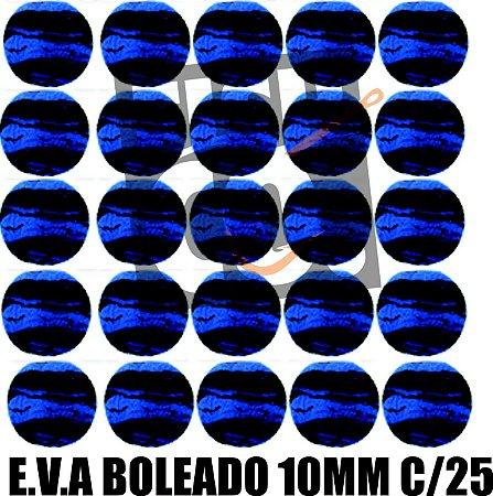 E.V.A 10MM APERTA O PLAY C/25 - AZUL COM PRETO