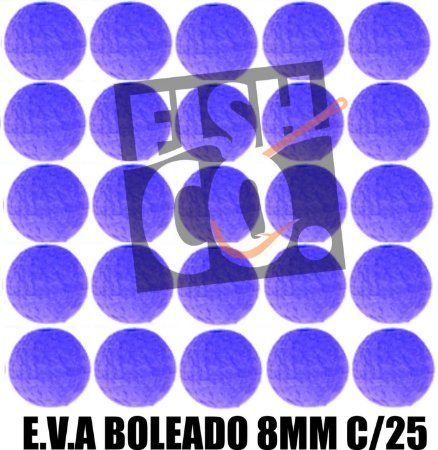 E.V.A 8MM APERTA O PLAY C/25 - LILAS